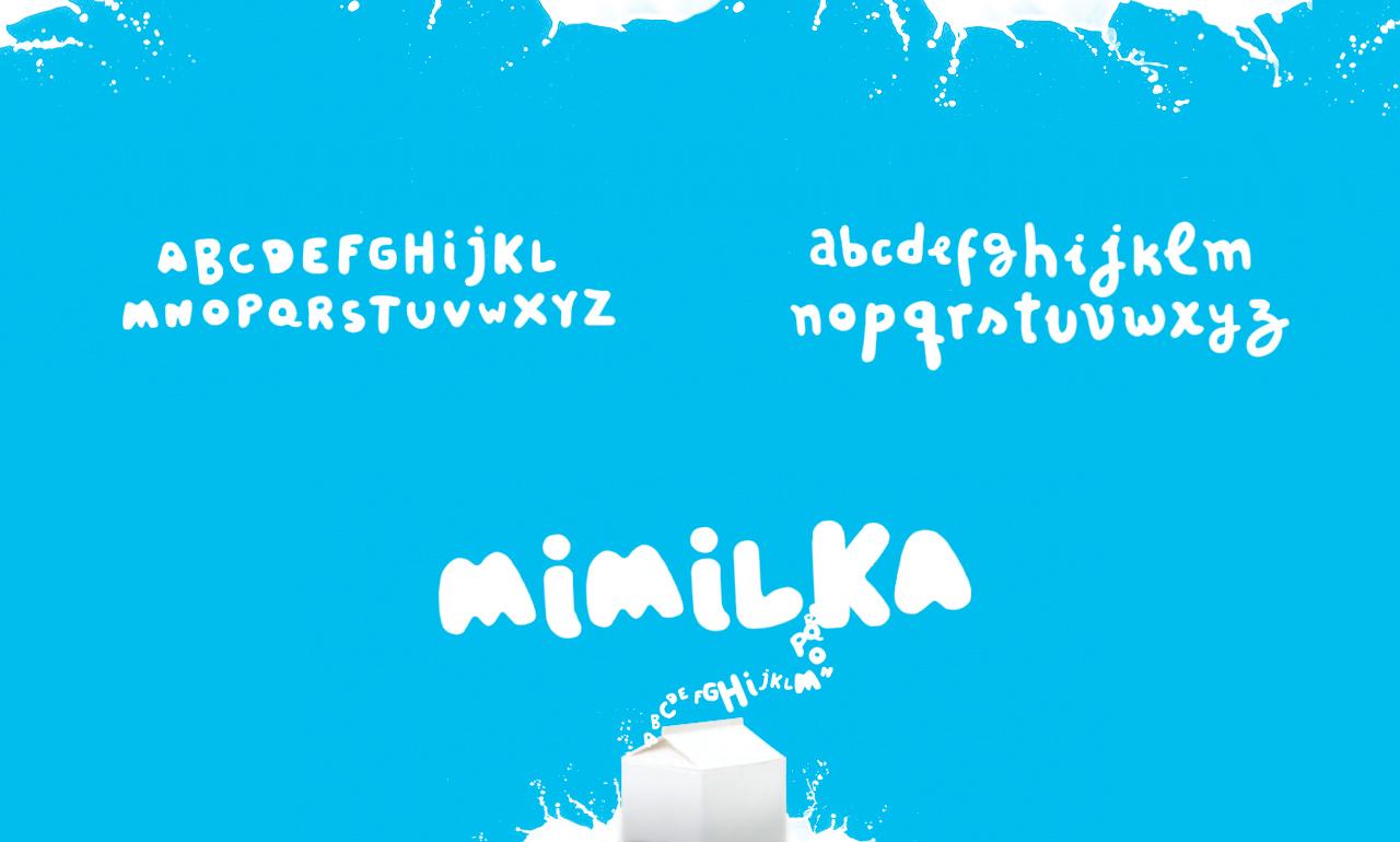 Mimilka – Typeface